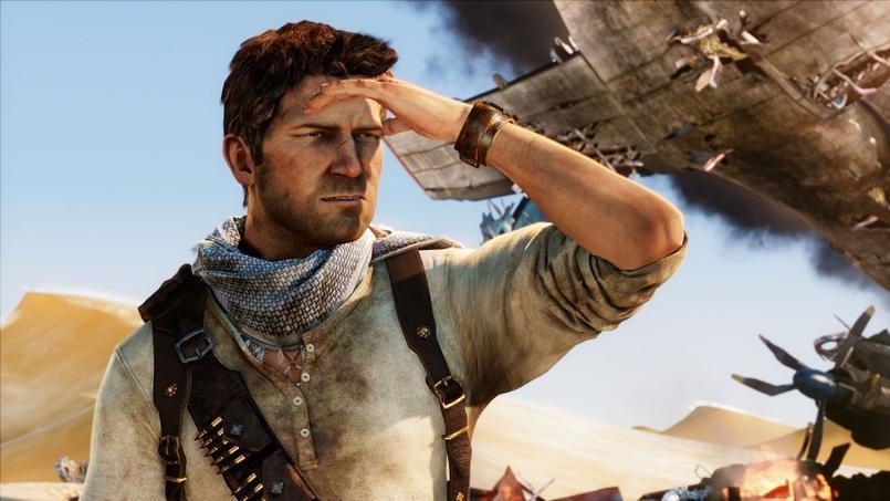 Nathan Drake, personnage issu du jeu Uncharted, licence phare de la PlayStation 3.