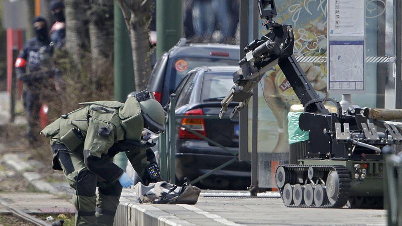 Des policiers belges sont intervenus dans la commune de Schaerbeek vendredi pour une opération antiterroriste.
