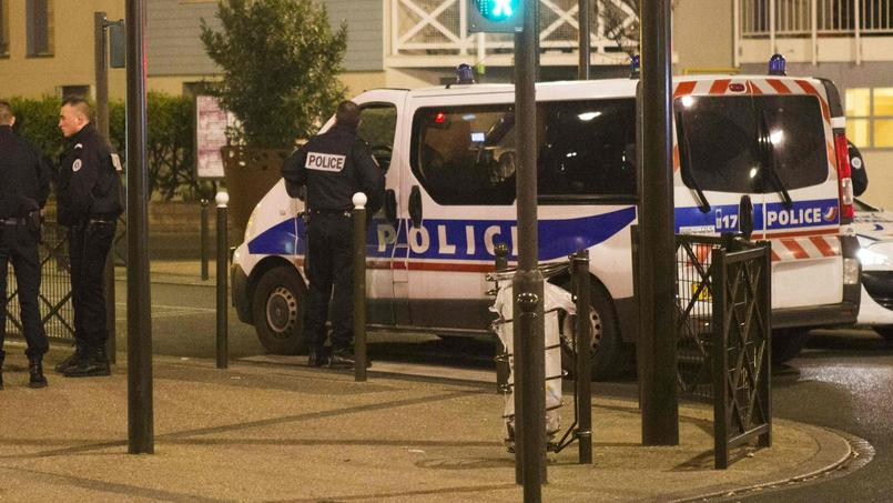 L'opération antiterroriste à Argenteuil, jeudi.