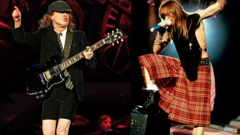 Angus Young et Axl Rose, bientôt réunis sur une même scène? La radio américaine spécialisée en rock WNNX a l'air d'en être persuadée.