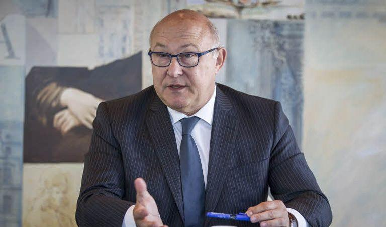 Le ministre des Finances, Michel Sapin.