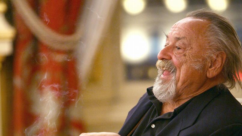 Jim Harrison à Lyon, en 2007.