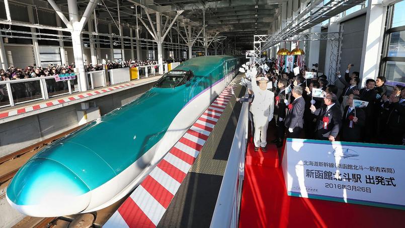 Pour la première fois, le TGV nippon se lance vers l'île d'Hokkaido