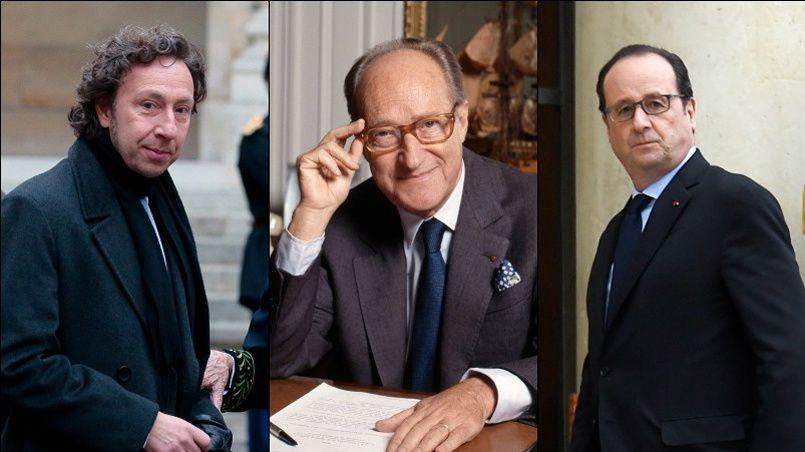 Stéphane Bern, Christiane Taubira, Audrey Azoulay... tous ont salué l'historien Alain Decaux, disparu ce dimanche 27 mars.