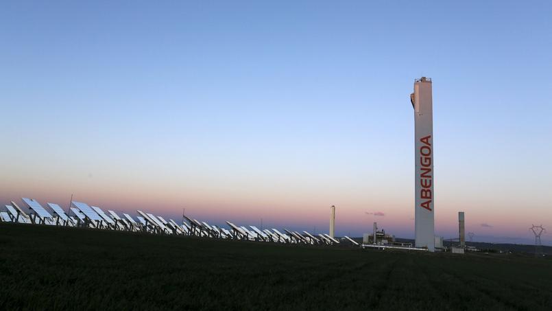 Un parc solaire à proximité de Séville, en Andalousie.