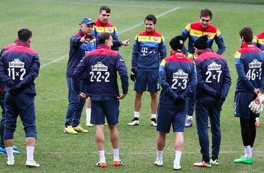 Grâce aux maillots de l'équipe de Roumanie, on progresse en calcul mental