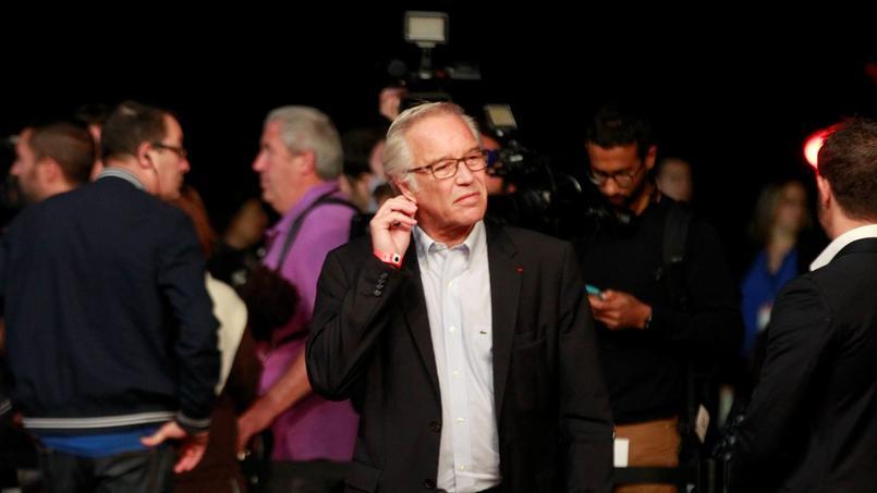 François Rebsamen, en juin dernier, au congrès PS de Poitiers (Photo: Sébastien SORIANO / Le Figaro).