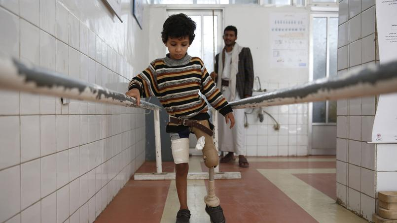 Centre de rééducation de Sanaa, au Yémen.