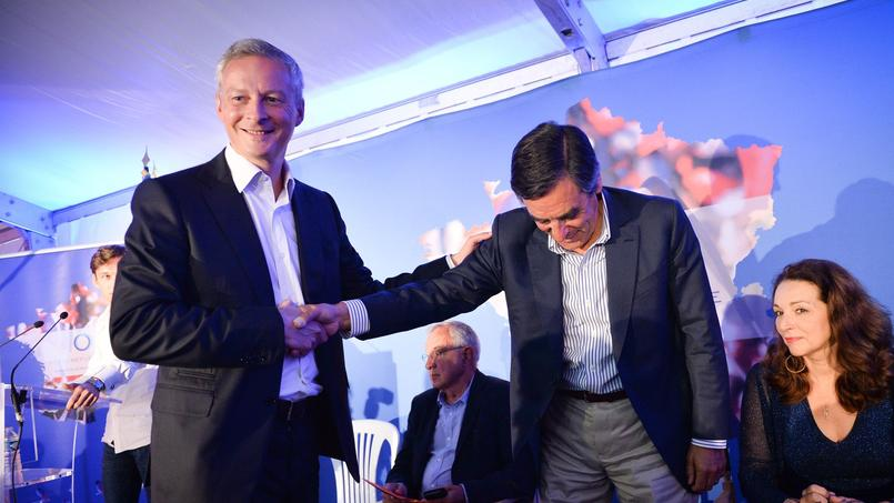 Bruno Le Maire et François Fillon