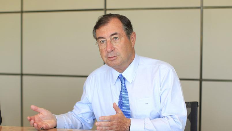 Martin Bouygues, PDG du groupe Bouygues. Crédit photo: LE FIGARO /Jean-Christophe MARMARA