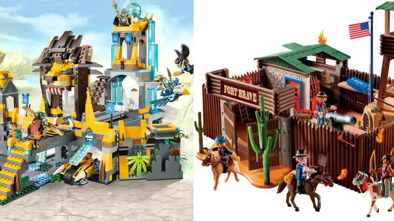 societes  ARTFIG lego vs playmobil la rivalite qui anime le monde du jouet