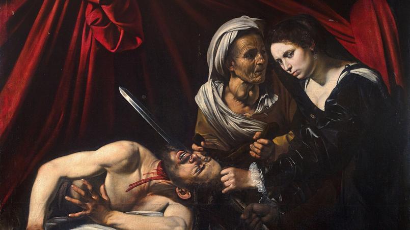 Judith et Holopherne, de Michelangelo Merisi (1571-1610) dit le Caravage (DR).