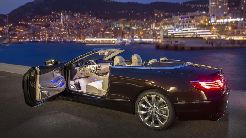 mercedes s 500 cabriolet un yacht quatre roues. Black Bedroom Furniture Sets. Home Design Ideas