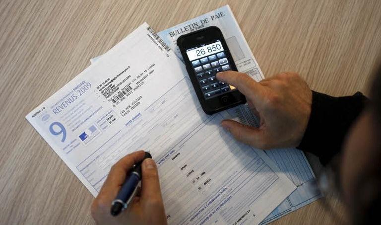 Une déclaration d'impôts