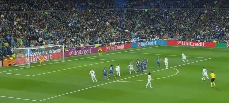 Cristiano Ronaldo a inscrit un triplé.