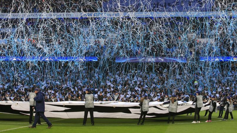 Les supporters de Manchester City ont sifflé l'hymne de la Ligue des champions.