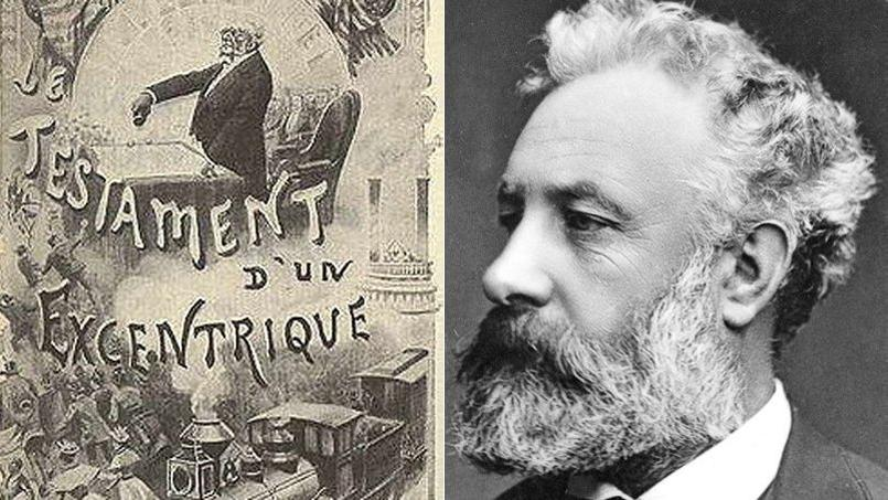 """The collection of the Pleiades publishes """"Testament of an eccentric"""" by Jules Verne."""