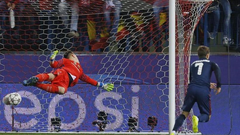Les deux buts du bourreau de Barcelone: Antoine Griezmann