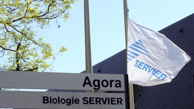 Une usine des laboratoires Servier, à Gily près d'Orléans.