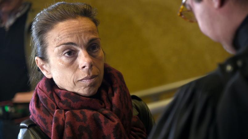 L'ancienne présidente de l'INA et du Centre Pompidou lundi au tribunal de Créteil.