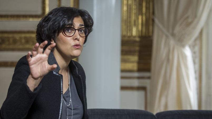 Myriam El Khomri, le 4 janvier dans son bureau, lors de l'entretien qu'elle a accordé au Figaro.