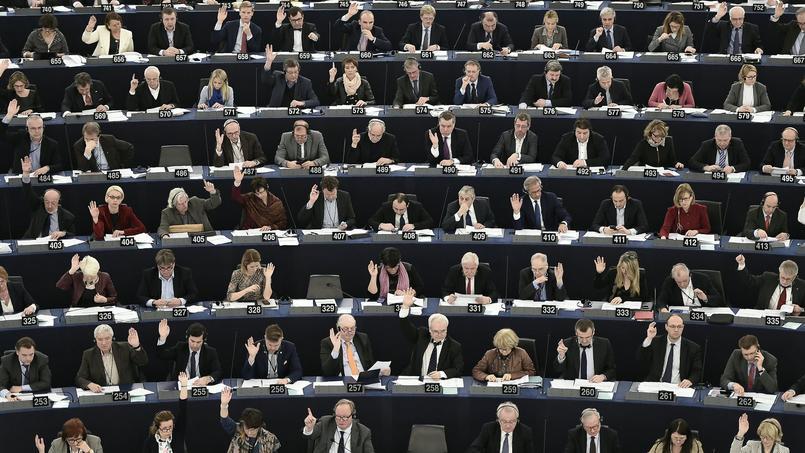 Des membres du parlement européen