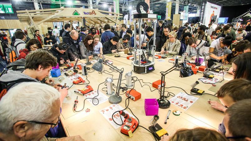 300 créateurs présenteront leurs projets au public ce week-end, pour les premiers jours de la Foire de Paris.