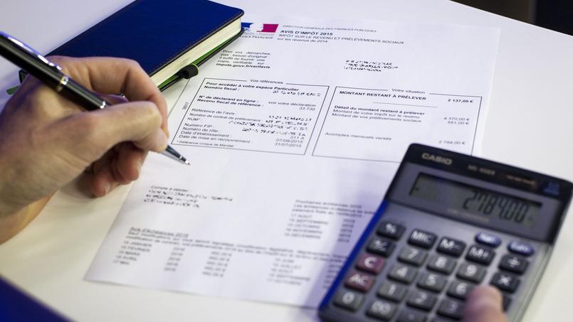 Si vous remplissez une déclaration papier, vous devrez attendre de recevoir votre avis d'imposition (entre le 4août et le 6 septembre 2016) pour connaître votre imposition.