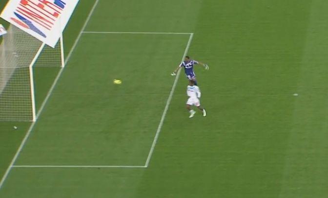 L'OM a marqué un but gag face à Reims.