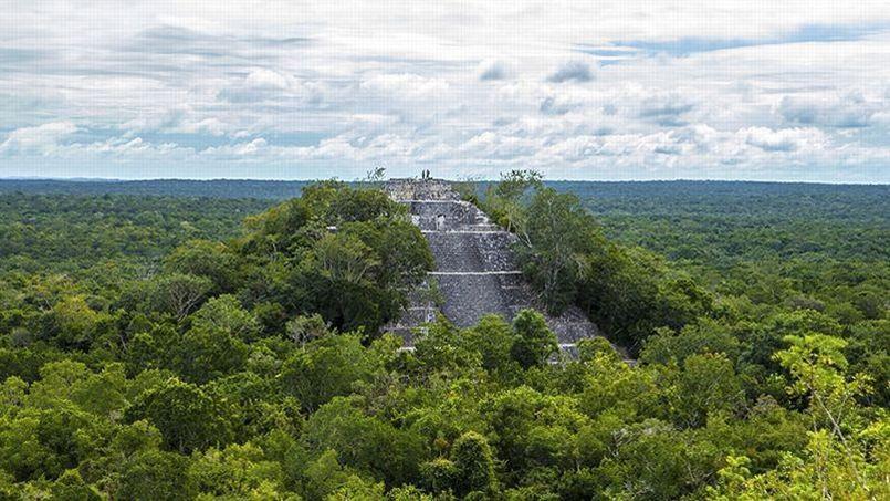 Le site historique, baptisé «K'ÀAK' CHI'» par l'adolescent, se situe dans un endroit reculé et inaccessible dans la péninsule du Yucatan, au Mexique. (Photo d'archives)