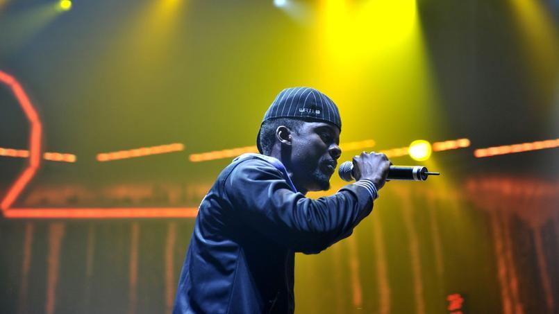 Le chanteur Black M, membre du groupe de rap «Sexion d'Assaut»