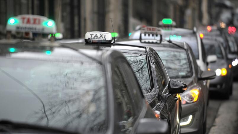 Face la concurrence des vtc les taxis g7 contre attaquent for Garage des taxis g7