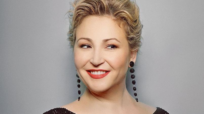 La mezz-soprano Karine Deshayes.