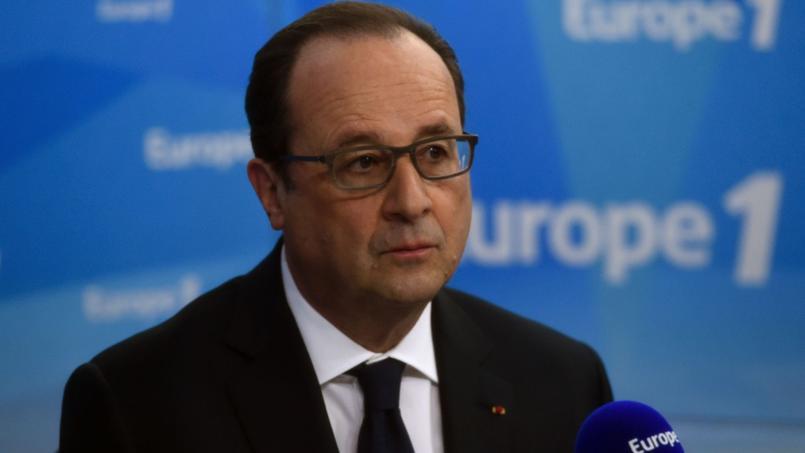 François Hollande, ce mardi, sur Europe 1.
