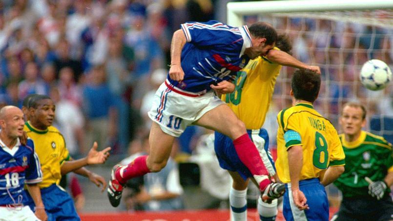 Le maillot de Zidane en finale du Mondial 98 détenu par un collectionneur