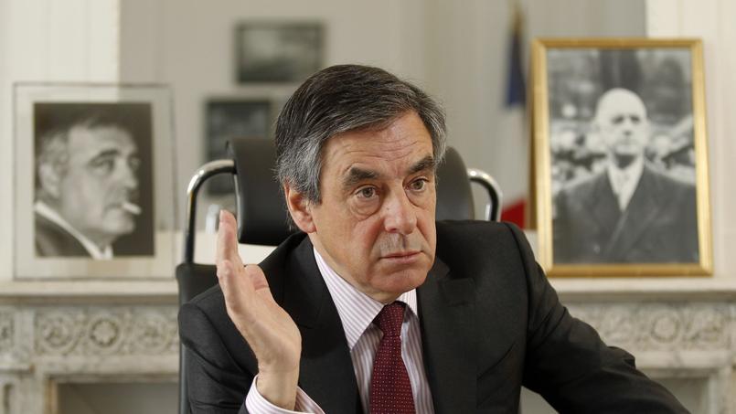 François Fillon, candidat à la primaire à droite