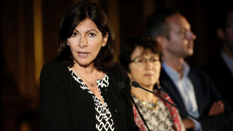 La maire de Paris Anne Hidalgo, le 31 mai 2016 à Paris.