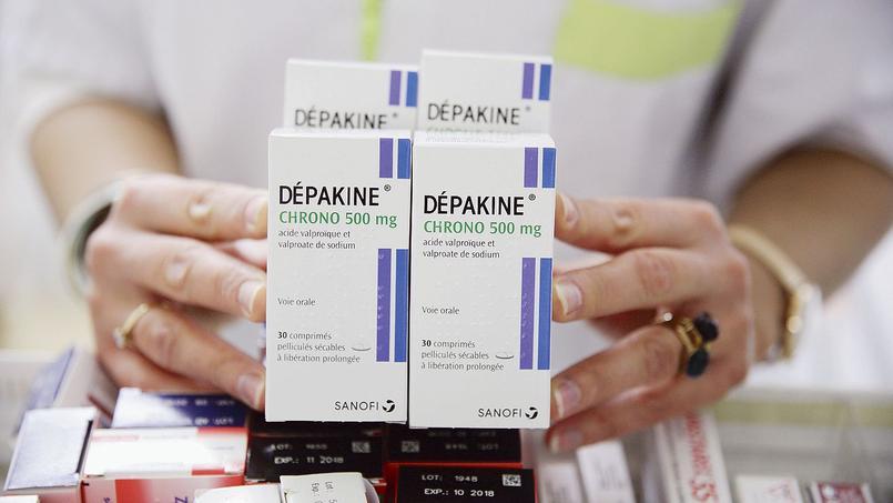 Boîtes de Dépakine.