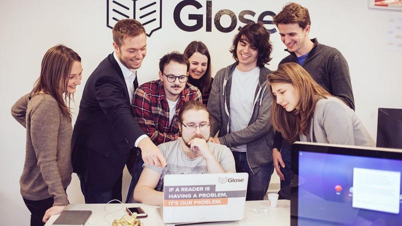 Glose, une des start-up hébergées au WAI, l'incubateur de BNP Paribas, à Paris.