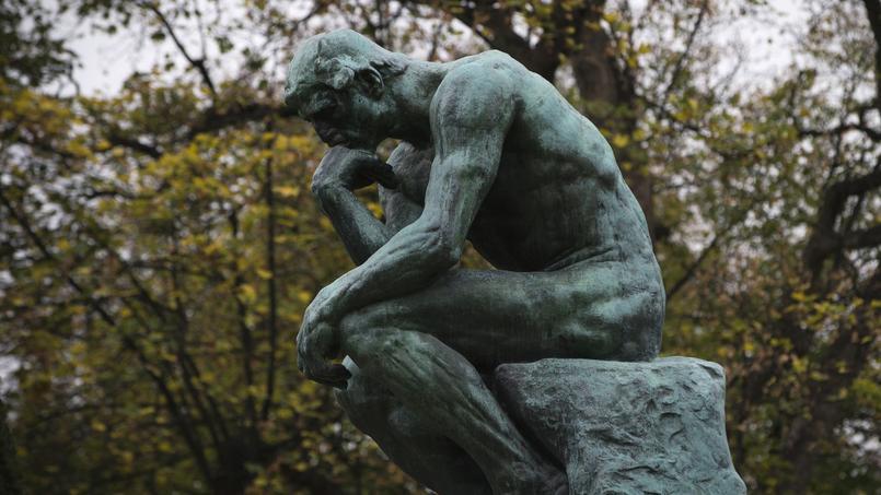 Le Penseur de Rodin.