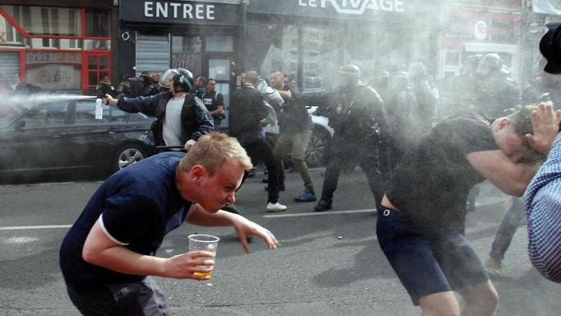 Les supporteurs anglais impliqués dans plusieurs incidents dans le Nord
