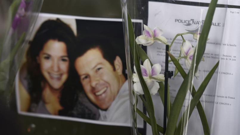 Une marche blanche a eu lieu ce jeudi en hommage aux deux policiers tués le 13 juin dernier à leur domicile.