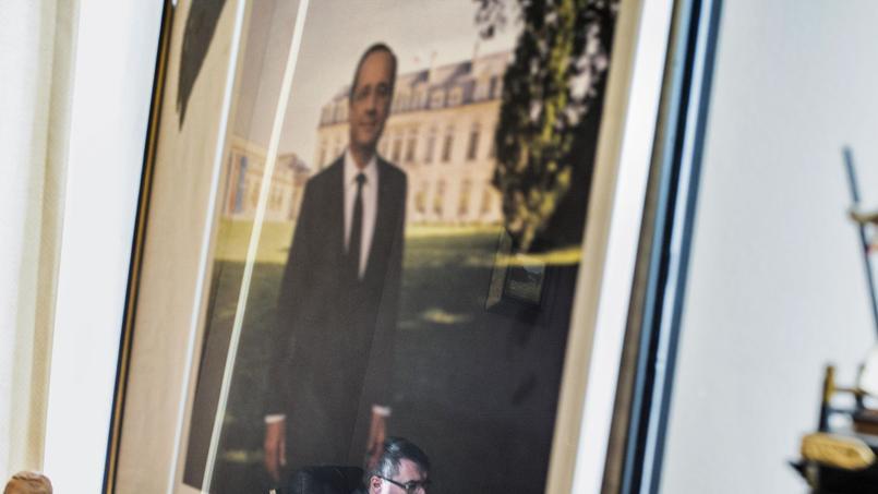 Le portrait de François Hollande.