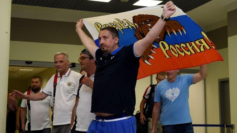 Euro 2016: le supporter ultranationaliste russe de nouveau expulsé