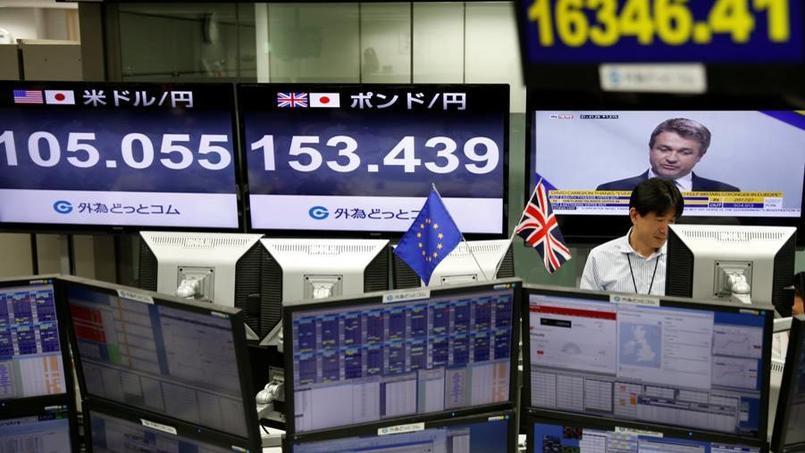 Le Royaume-Uni quitte l'Union européenne, les bourses plongent