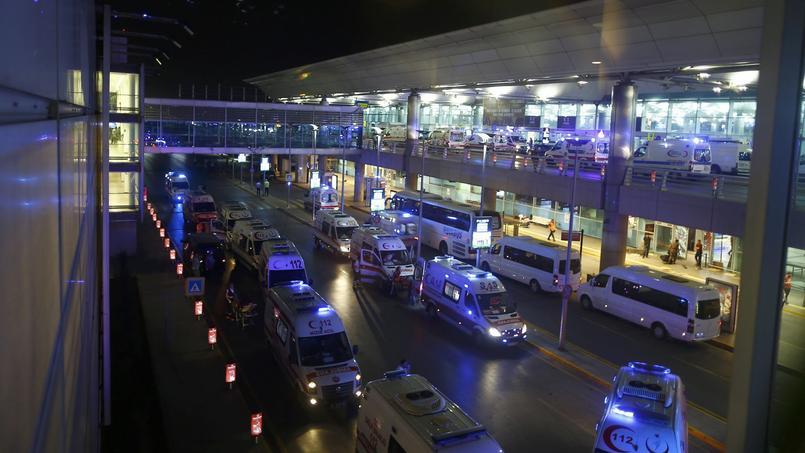 L'aéroport Atatürk d'Istanbul.