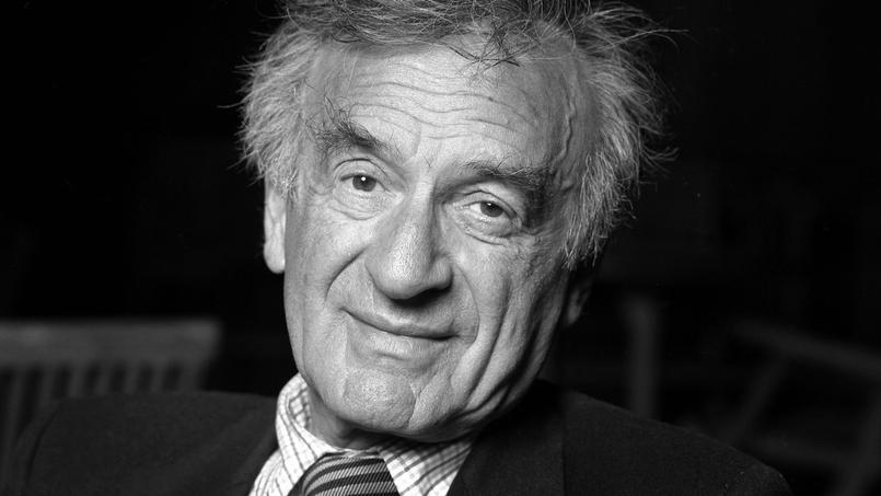 L'écrivain Elie Wiesel en 2008.