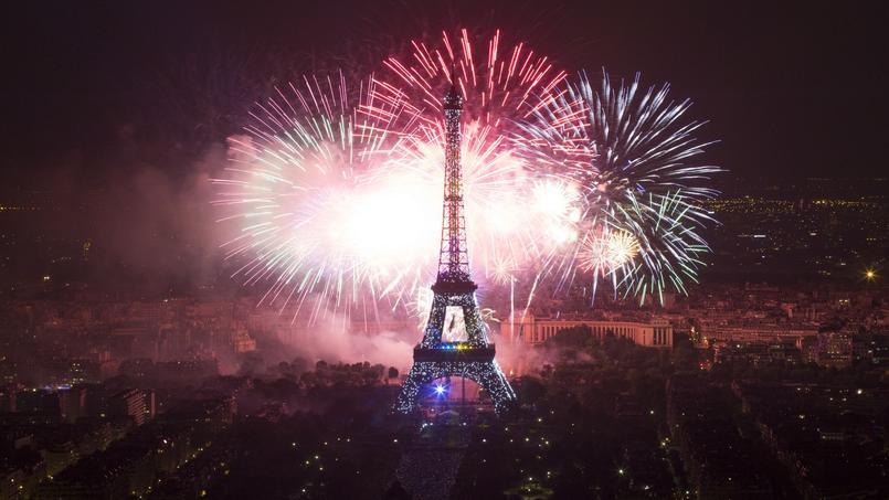 Le soir du 14 juillet, nombreuses sont les villes de France à proposer des feux d'artifice.