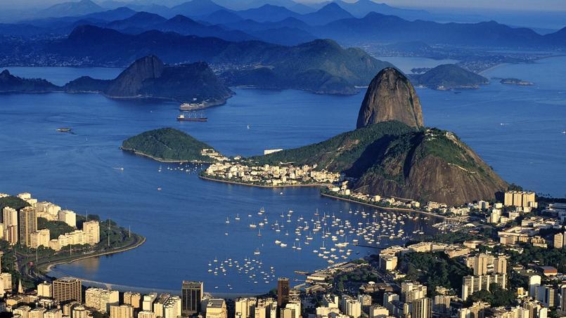 Vue sur Rio depuis le Corcovado.