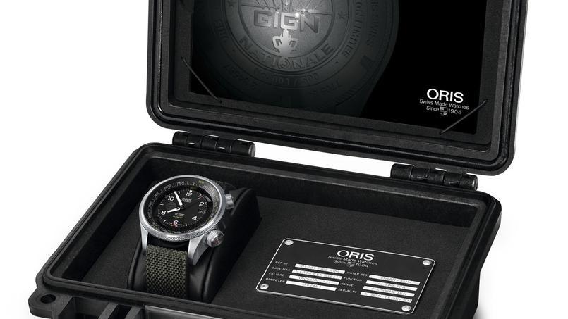 La montre, éditée à 500 exemplaires, est vendue dans un coffret robuste.